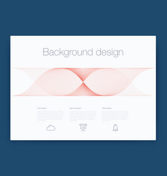 futuristic user interface ui technology vector image