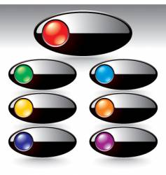 menu button vector image