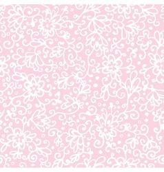 Pink abstract floral texture seamless pattern vector