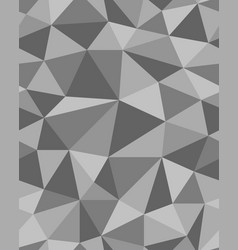 Polygonal mosaic templates vector