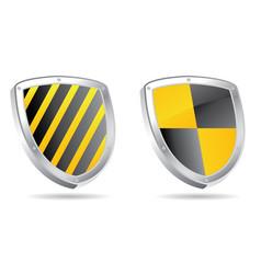 shields 3d vector image