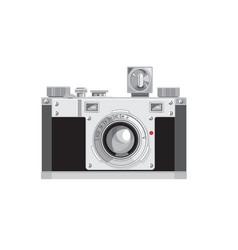 vintage 35mm film camera retro style vector image