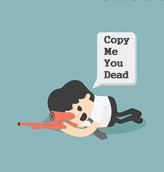 Warning Copy Cartoons concepts vector