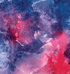 Watercolor painted background vector image