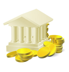 banking concept vector image vector image