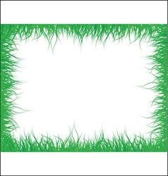 grass frame vector image