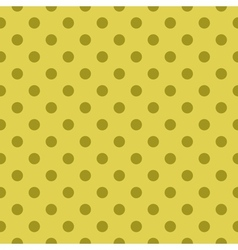 Tile green pattern or seamless dots background vector image vector image