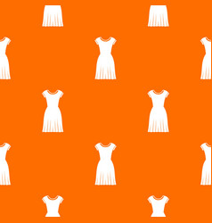 woman dress pattern seamless vector image vector image
