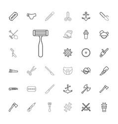 33 sharp icons vector