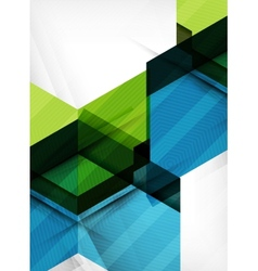 Business geometric design background vector