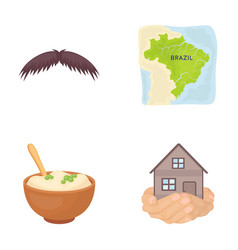 catering travel business and other web icon in vector image