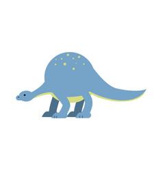 cute cartoon dinosaur prehistoric and jurassic vector image vector image