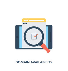 Domain availability vector