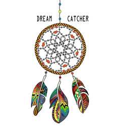 dream catcher vector image