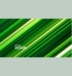 Fresh green layered surface abstract background vector