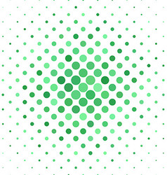 Green abstract dot pattern background vector