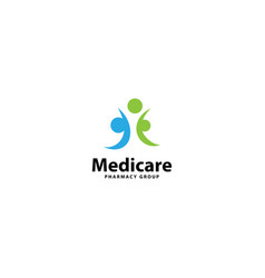 Health care and medical logo design vector