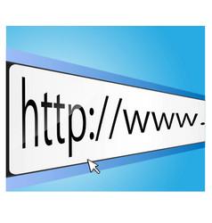 Internet background vector