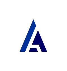 letter a logo icon concept design vector image