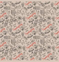 Seamless pattern 4 in childrens drawing style vector