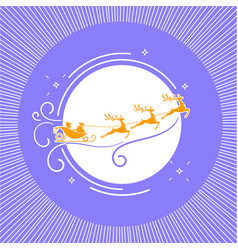 Silhouette christmas day 3 vector
