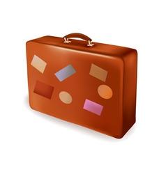 travel bag vector image