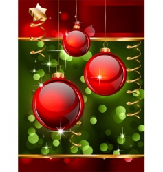 Christmas flyers or posters vector image