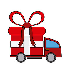 Delivery truck icon image vector
