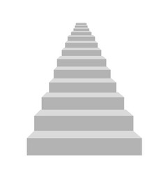Detailed stairs vector