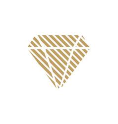 diamond logo design inspiration vector image