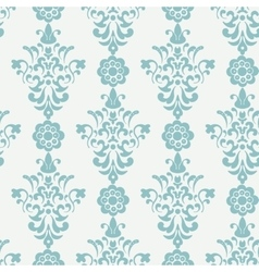Floral retro wallpaper vector