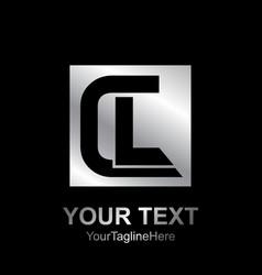 Initial letter cl logo design template element vector