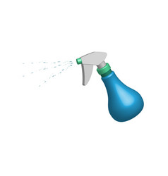 object spraying bottle in 3d vector image