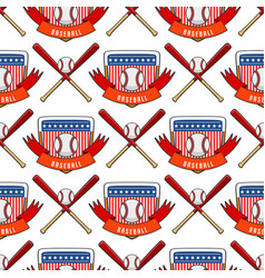 sport game baseball team play tournament vector image