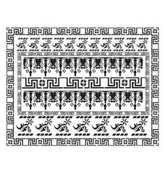 Vintage pattern background vector