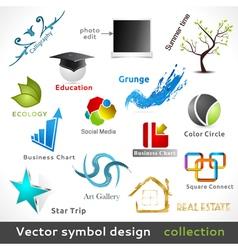 Color Symbol Design vector image vector image