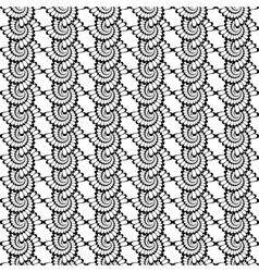 Design seamless vertical spiral background vector image