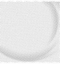 abstract black halftone pattern element modern vector image