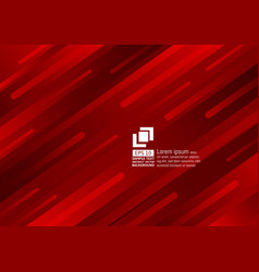 geometric elements dark red color abstract vector image