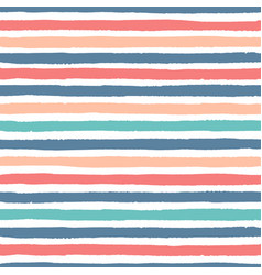 Grunge stripes of red blue and green color pattern vector