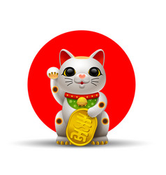 Japan cat vector
