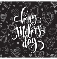 Mothers Day greeting card Hand drawn vector