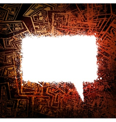speech bubble background vector image