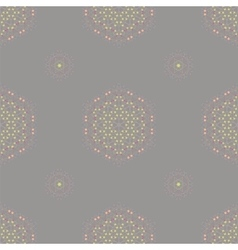 Symmetric seamless grey background vector