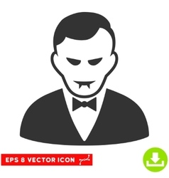 Vampire EPS Icon vector