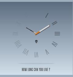 World no tobacco day poster vector