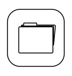 Figure symbol file icon vector