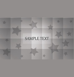 abstract white and gray color background vector image