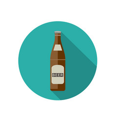 Beer icon in flat style vector
