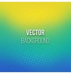 Blue-yellow Blurred Background With Halftone vector